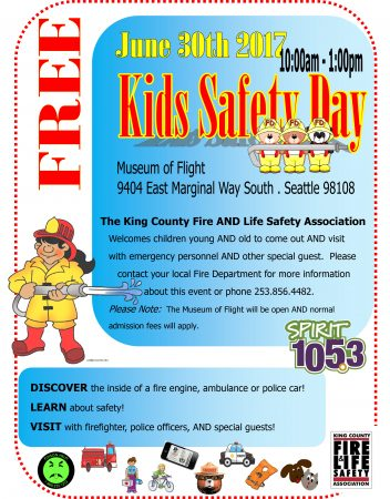 Kids Safety Day @ The Museum of Flight