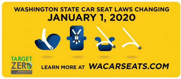 Washington Car Seat Laws Changing