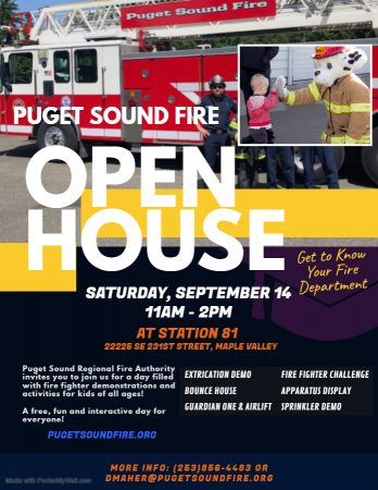 Open House at Station 81 @ Puget Sound Fire Station 81